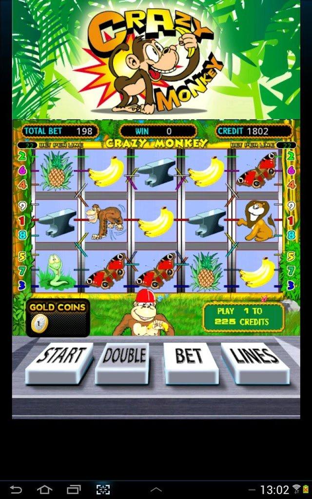 Slots Games Crazy Monkey