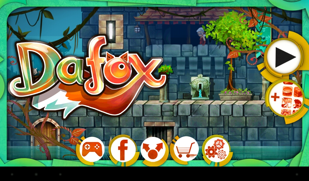 Opening Screen of Dafox