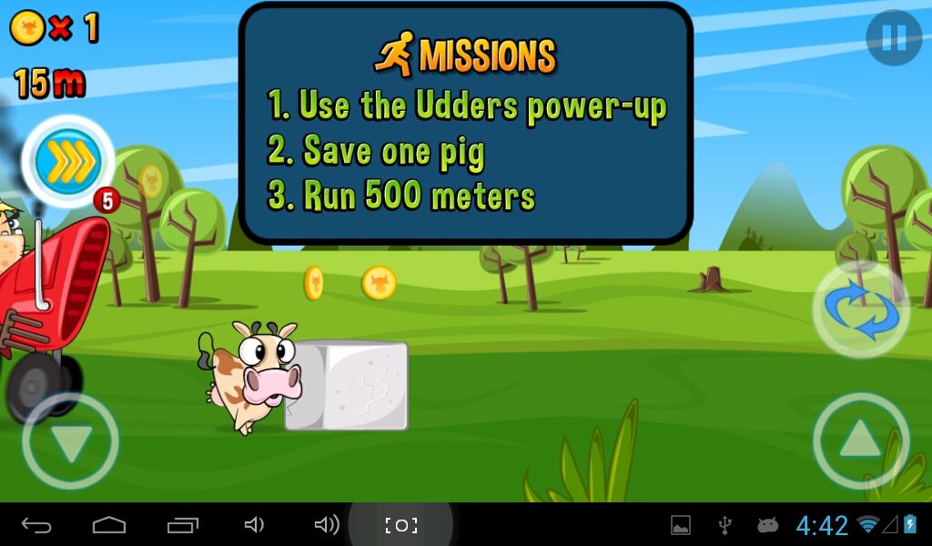 Complete missions to gain more gold!