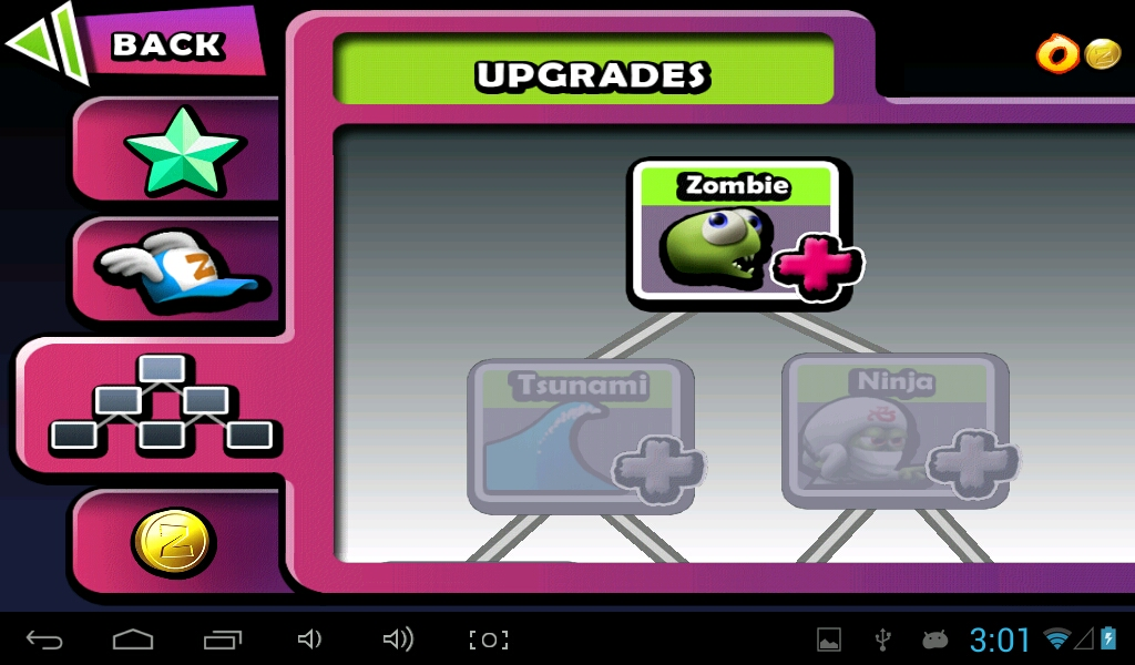 Make your power-ups last longer by upgrading