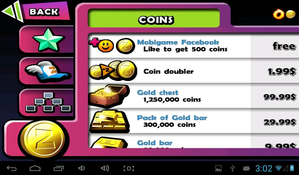Purchase coins to help your zombies in an instant!