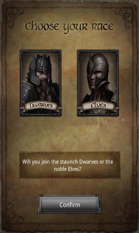 Dwarves or Elves? Very tough decision.