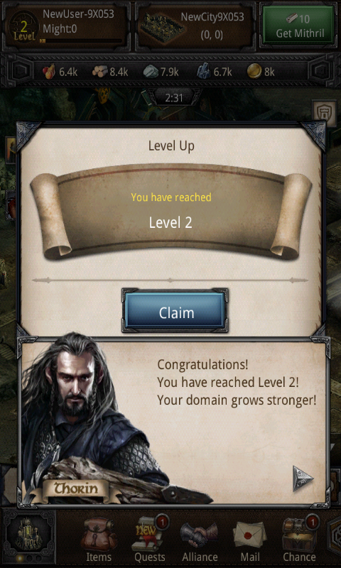 More levels to go.